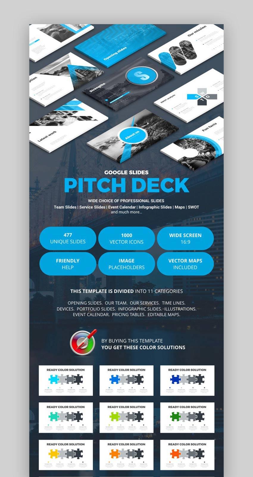 Pitch Deck Google Slides