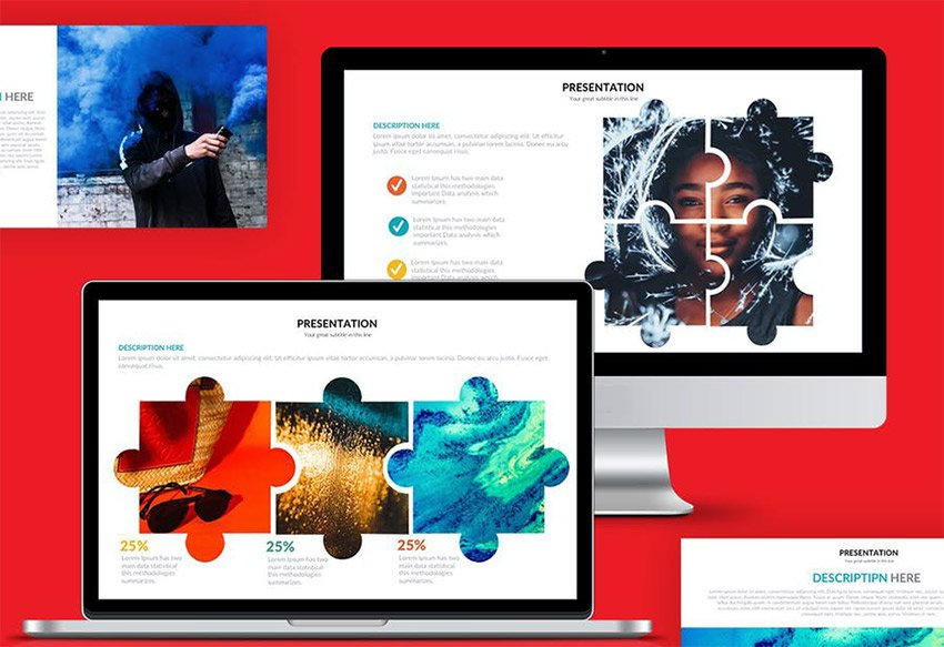 Puzzle Powerpoint Presentation