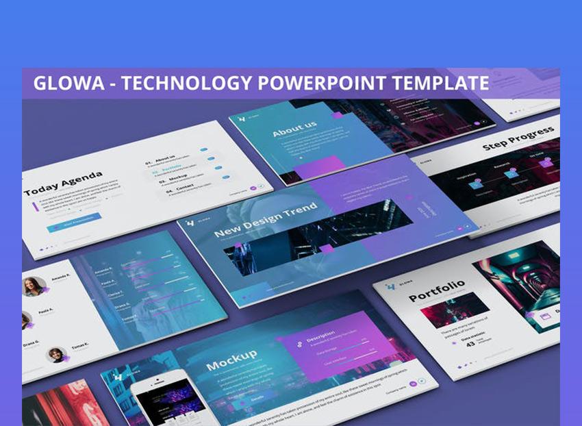 Glowa Future PPT Template