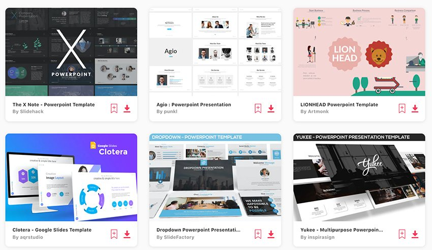 Best Selling PowerPoint Templates On Envato Elements