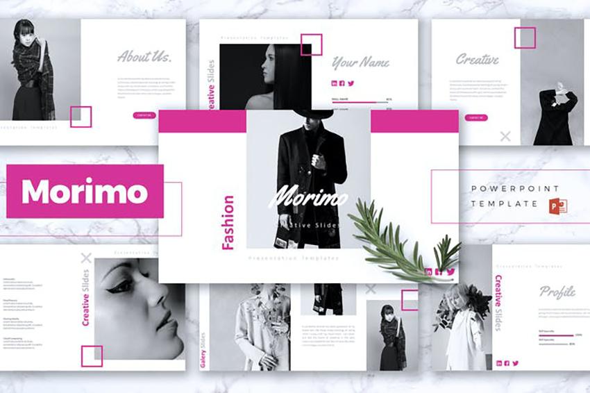 MORIMO - Fashion Powerpoint Template