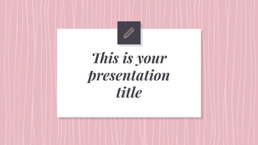 Pink Patterns Template