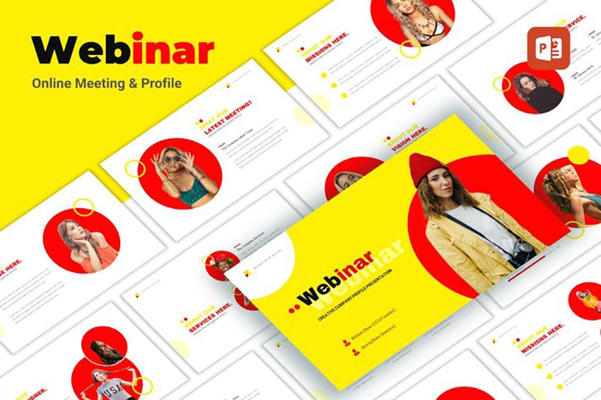 Webinar - Creative PowerPoint Template