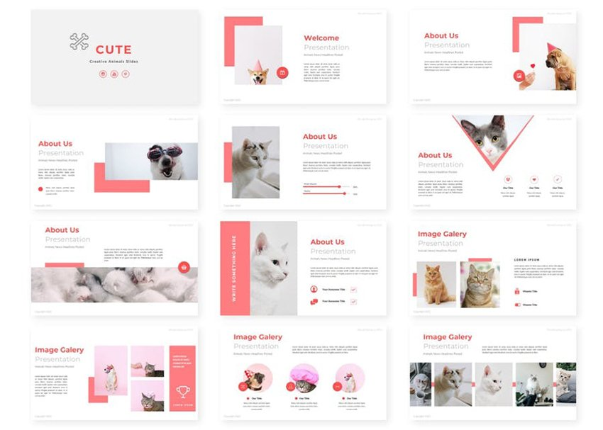 Pink color theme
