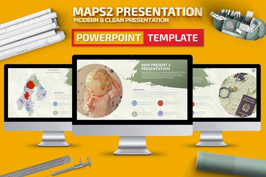 Map PowerPoint
