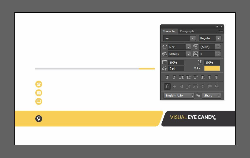 Change text color and style