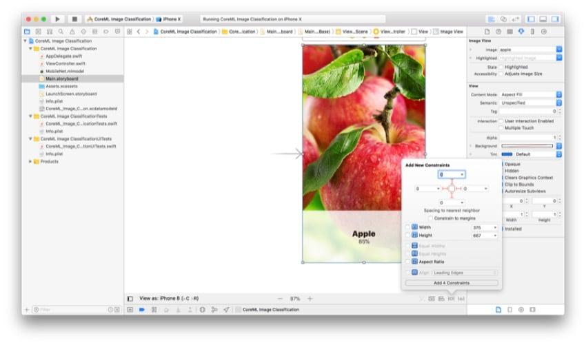 Figure 13 Image Constraints