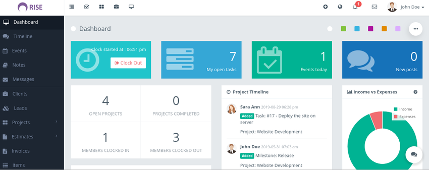 Rise Ultimate Project Manager