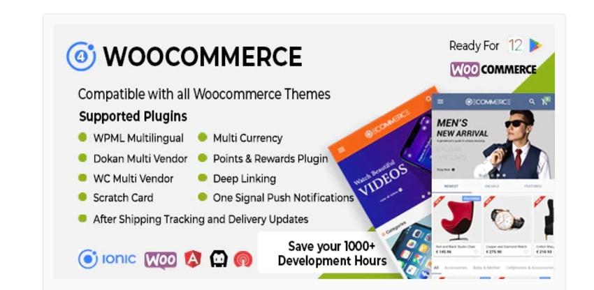 Ionic Woocommerce