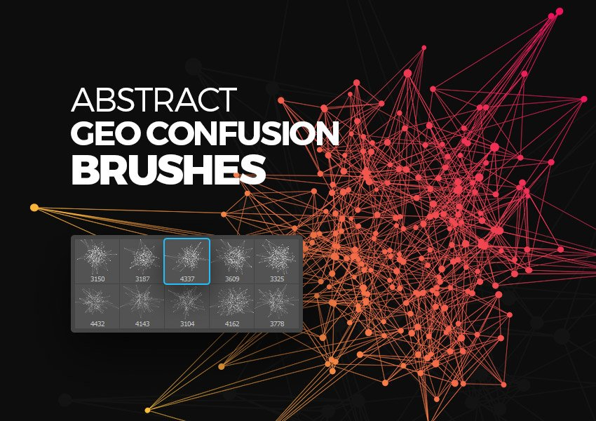Abstract Geometric Confusion Brushes