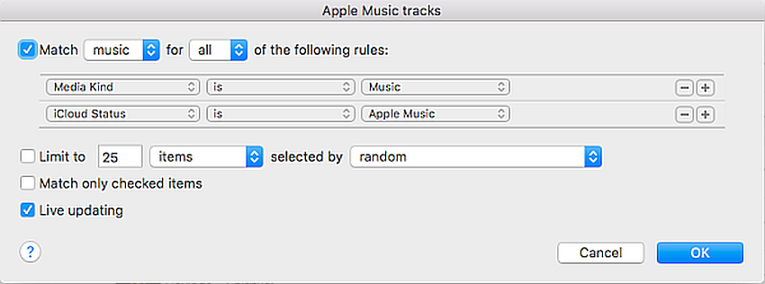 rule-box-separate-tracks-from-iTunes