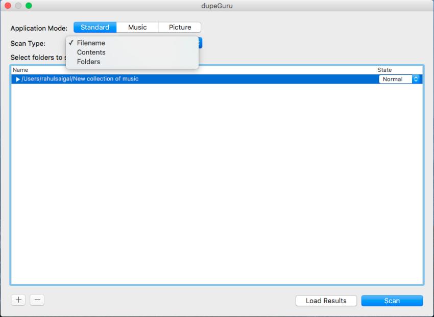 Detect duplicate files on your Mac with DupeGuru