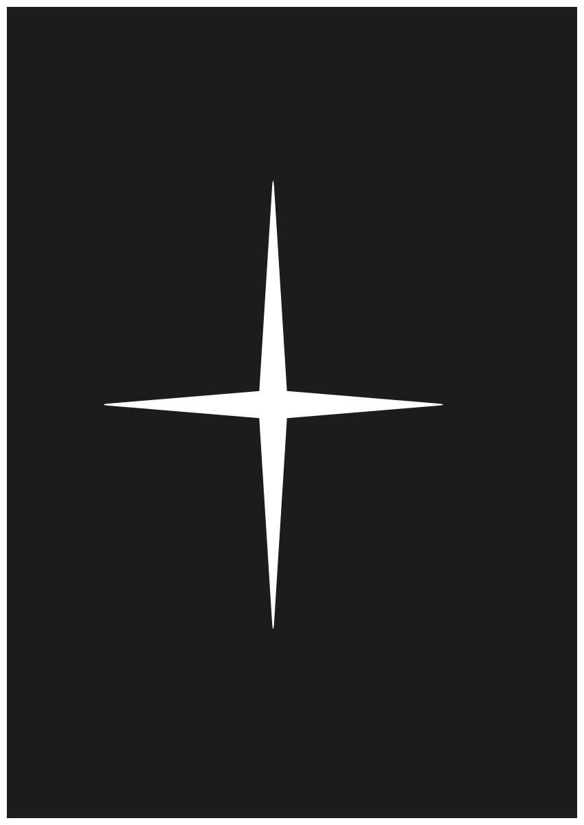 create a cross
