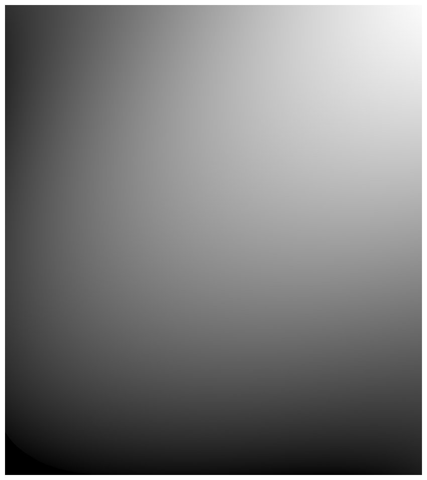 black and white gradient