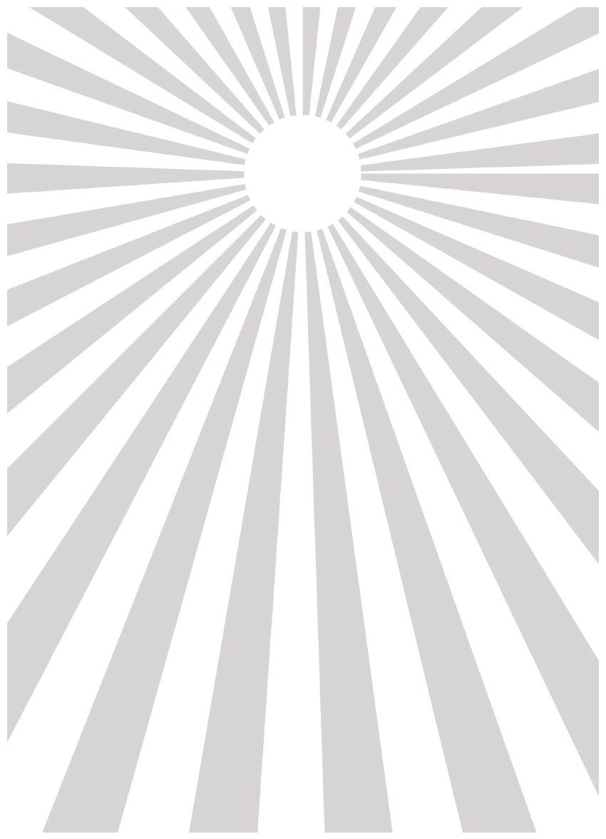sun burst shape