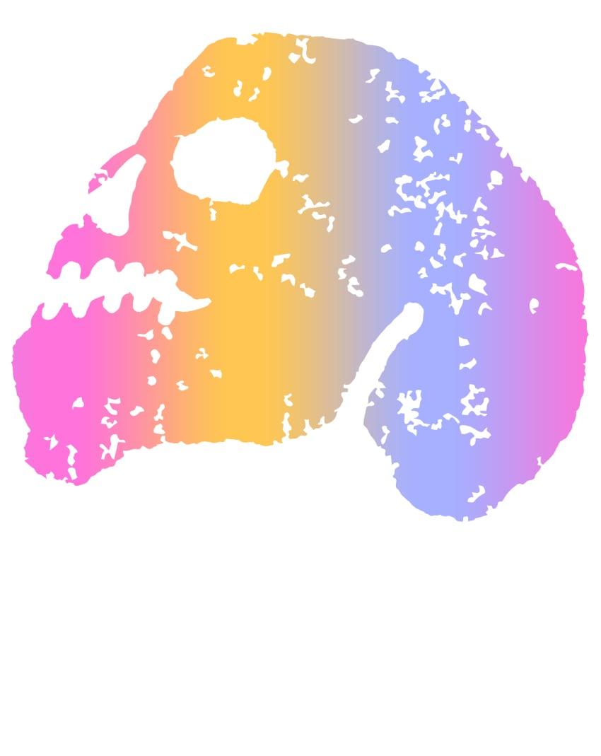 paint skull