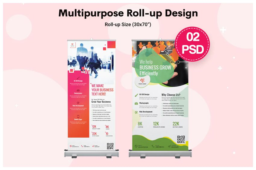 Multipurpose Roll-up Banners