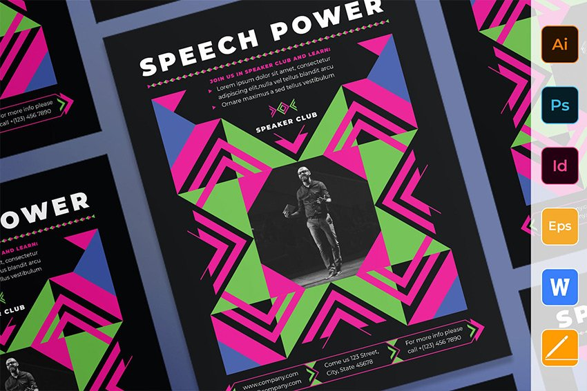 Speaker Poster