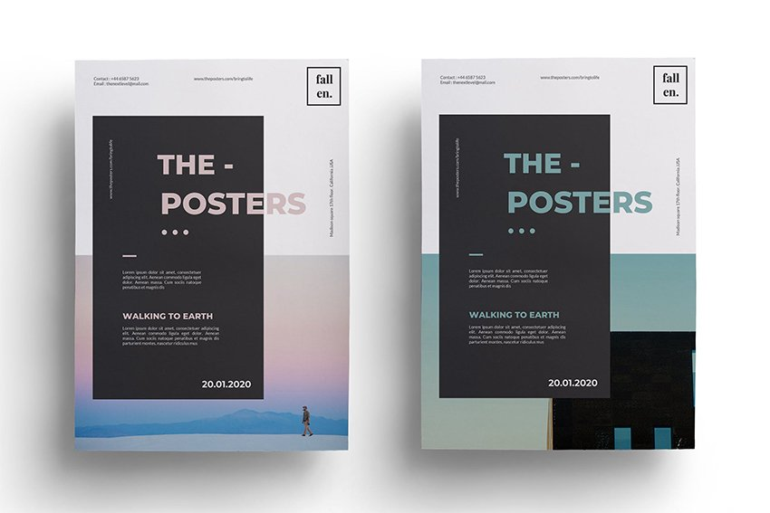 flyer and poster templates