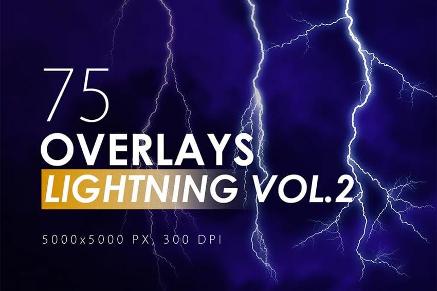 75 Lightning Overlays Vol. 2