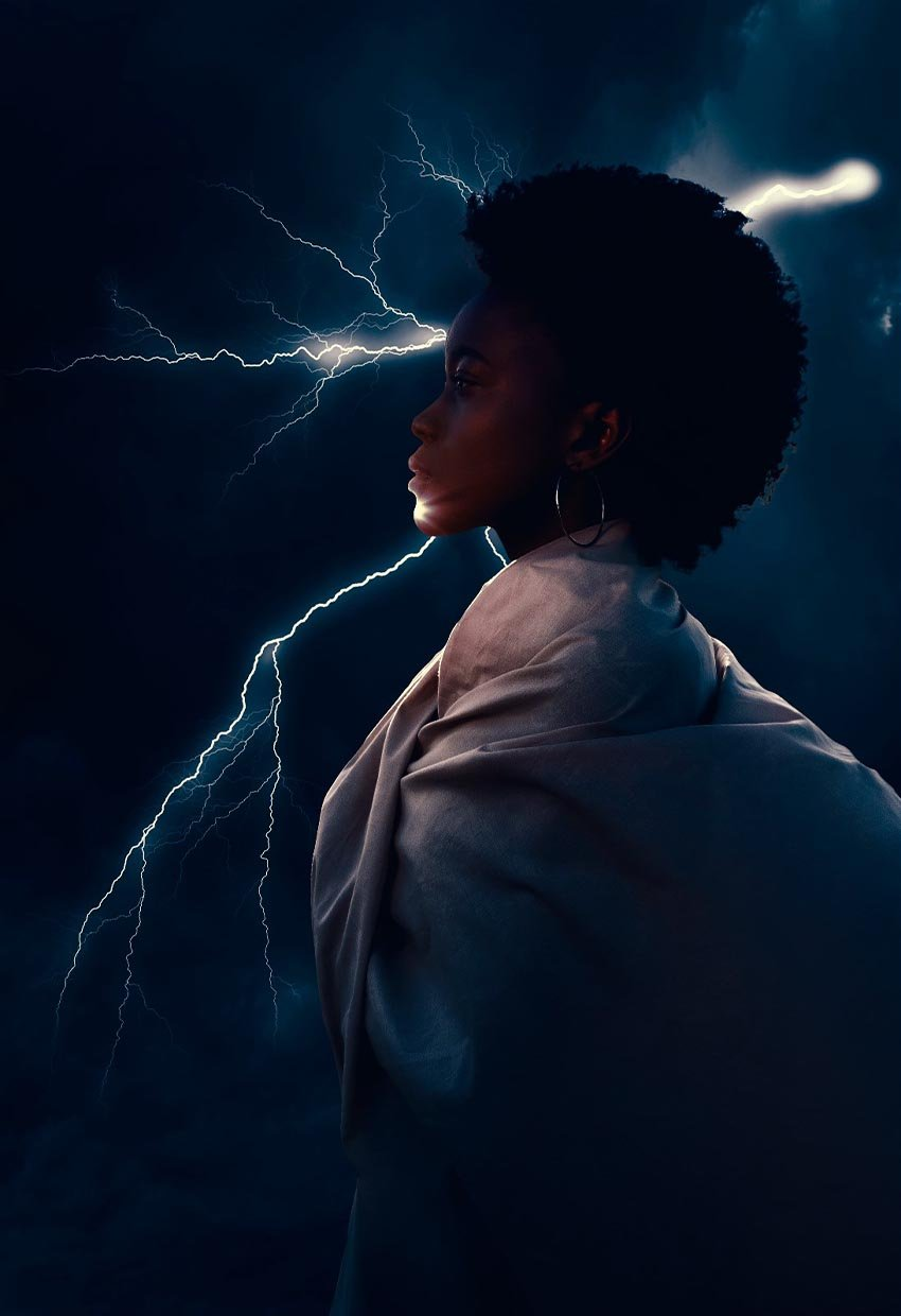 how to add lightning in photoshop