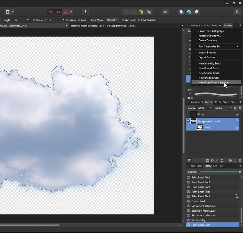 Q is for Quick Create Brushes