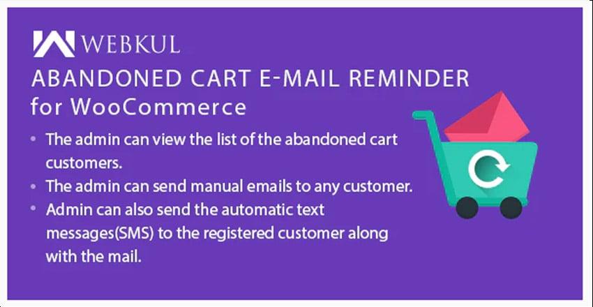 WooCommerce Abandoned Cart Email Reminder
