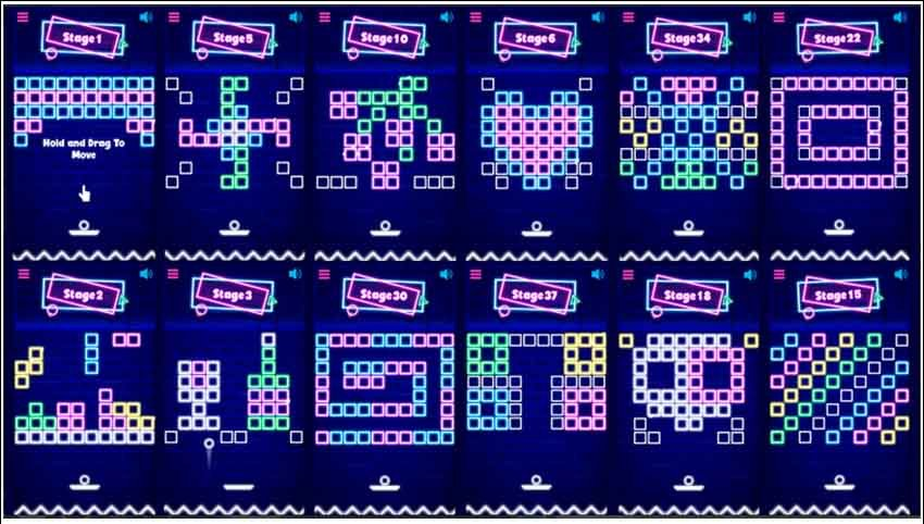 Neon Bricks