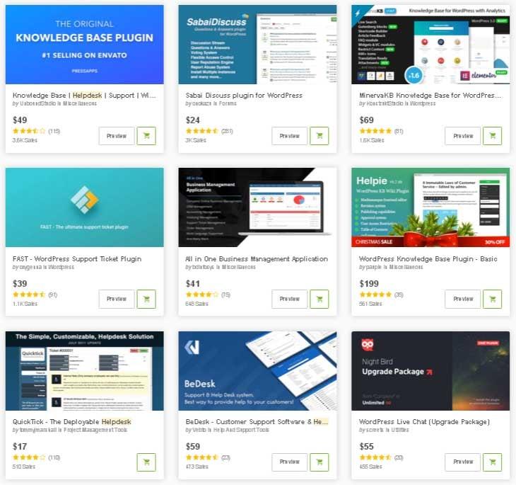 Best Selling Help Desk Plugins for WordPress