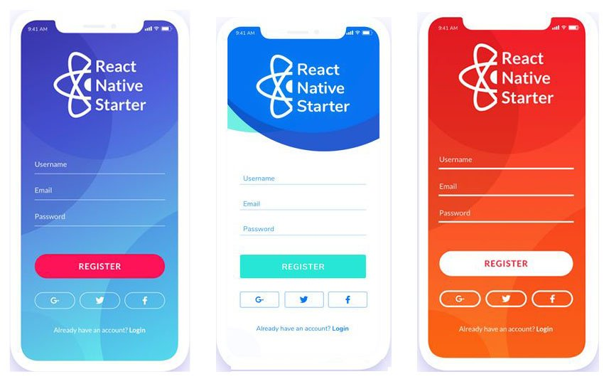 React Native App Free Starter