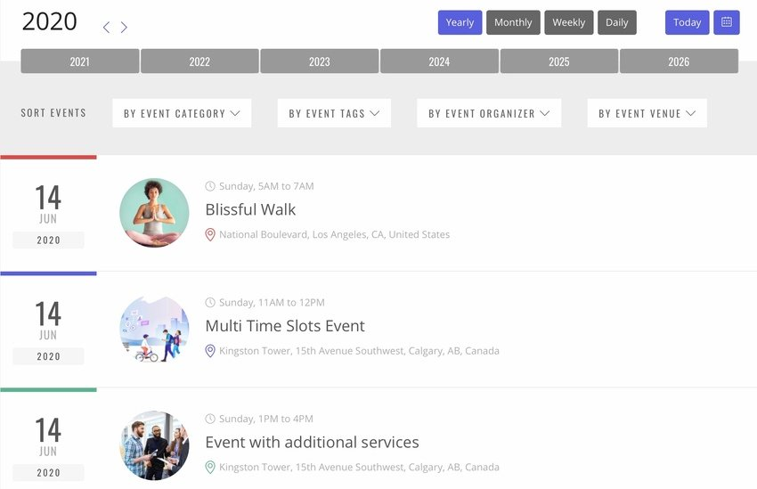Eventer All-in-one Event Management Plugin