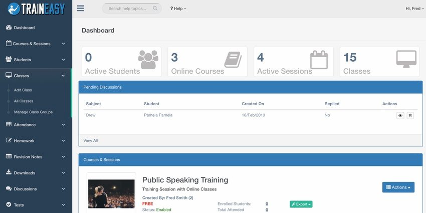 TrainEasy - Training  Learning Management System