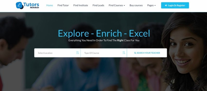 MenorahDirectory - Online Video Classes Tutoring Script