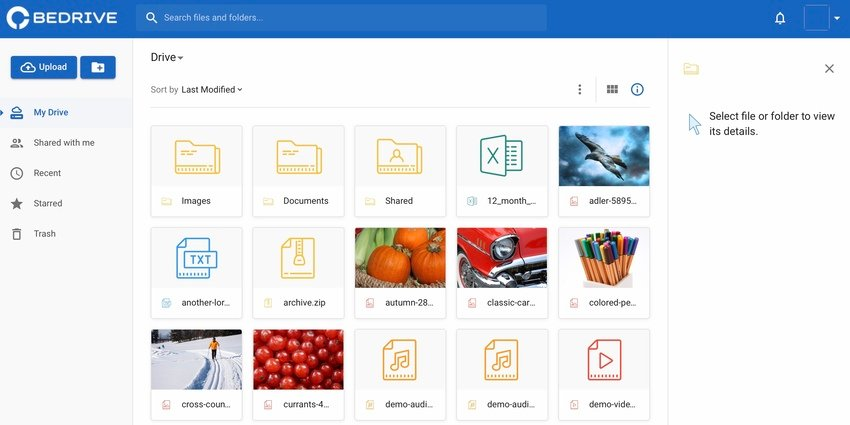 BeDrive - File Sharing and Cloud Storage