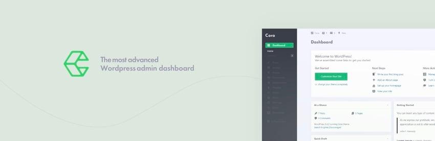 WordPress Admin Theme - Cora