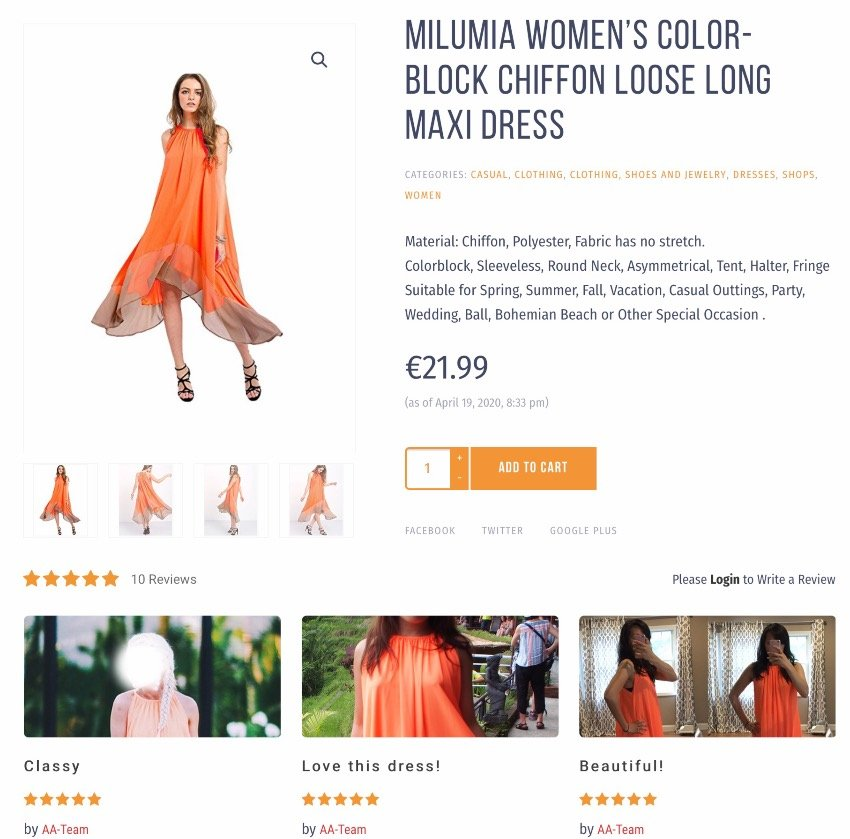 WooCommerce Image Review for Discount