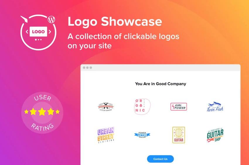 WordPress Logo Showcase Plugin