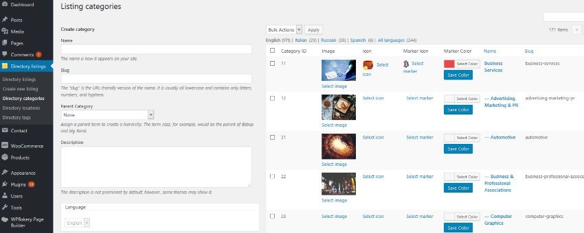 Directories Pro - Directory plugin for WordPress