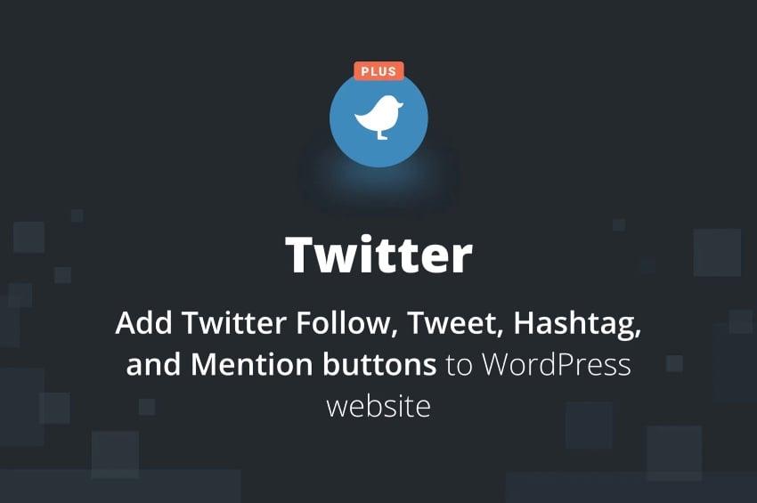 BestWebSoft's Twitter Plus