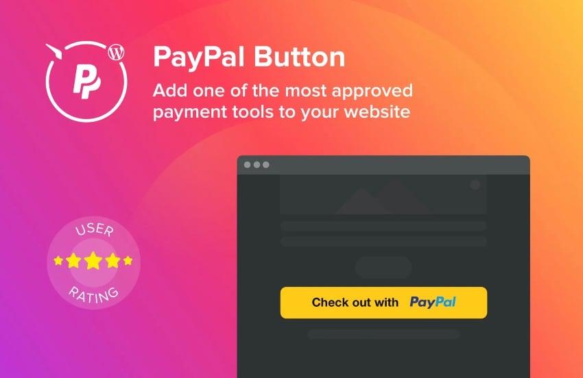 WordPress PayPal Button Plugin