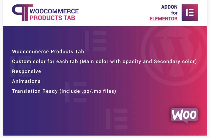 woocommerce-products-tab-for-elementor