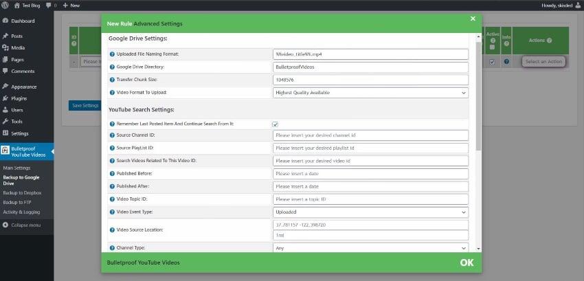Bulletproof Youtube Videos - Backup to Google Drive, Dropbox, OneDrive, Amazon S3, FTP