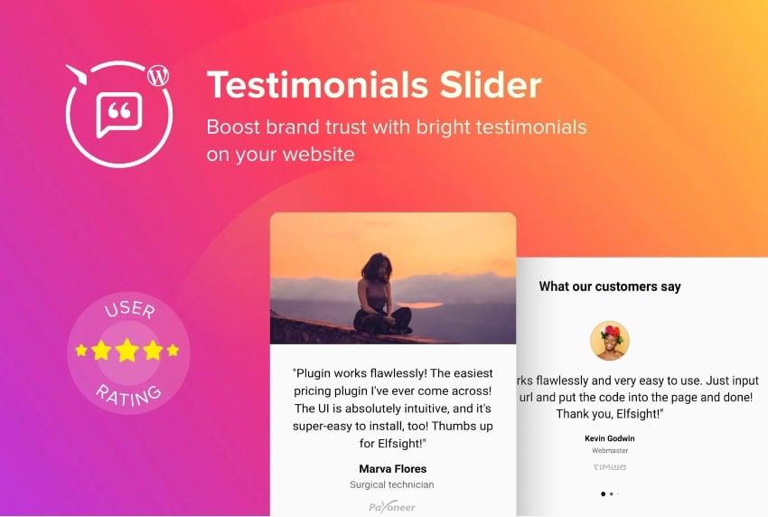 WordPress Testimonial Slider Plugin