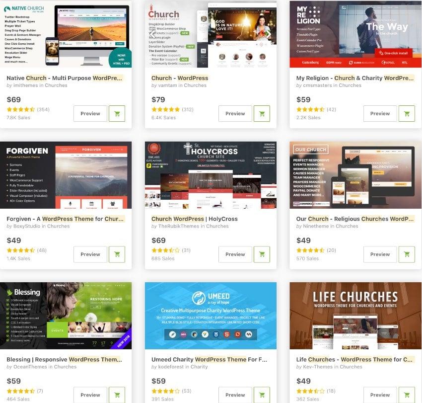 Best WordPress Church Themes for 2021
