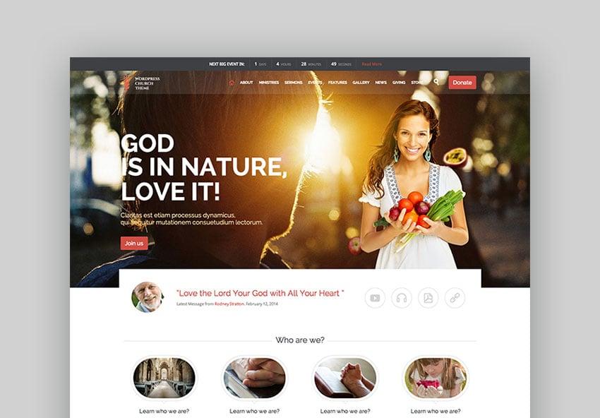 Church - WordPress