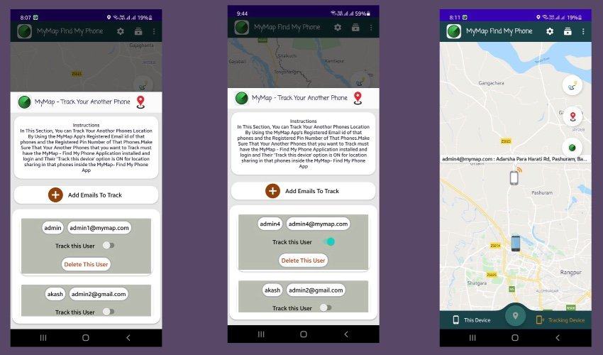 Phone Tracker - RealTime GPS Live Tracking of Phones