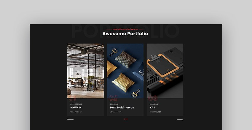 Coba - Creative Ajax Showcase Portfolio Template
