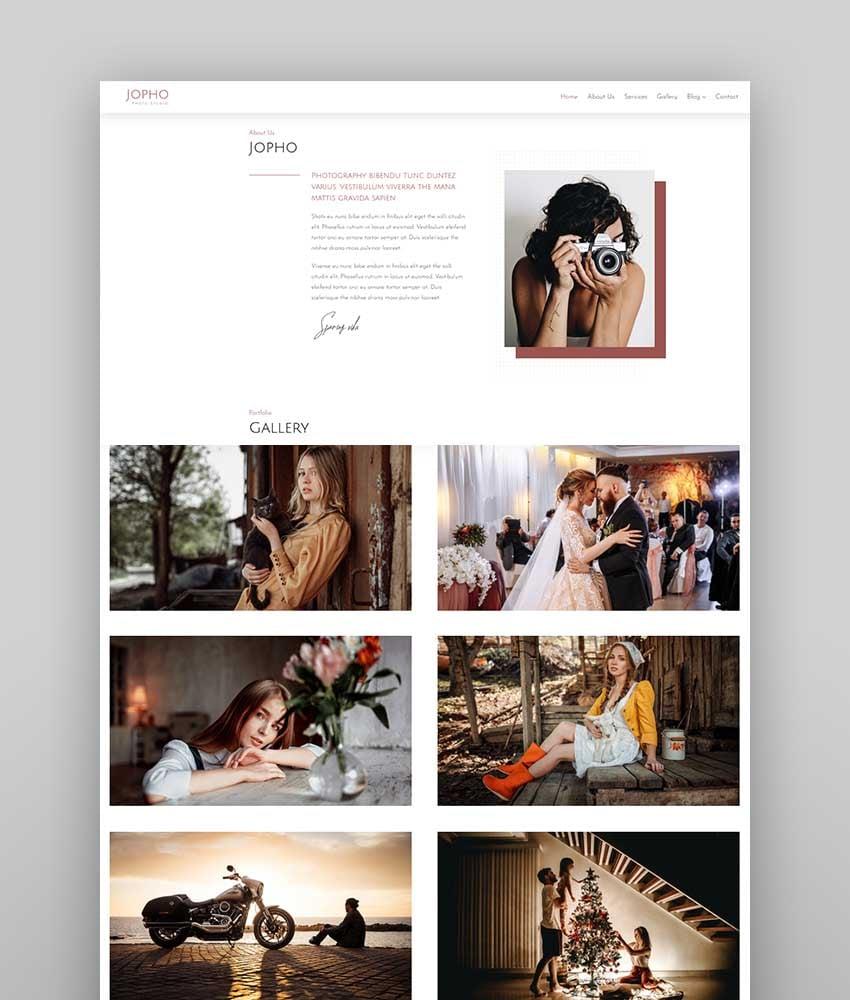 JOPHO – Creative Photography Portfolio