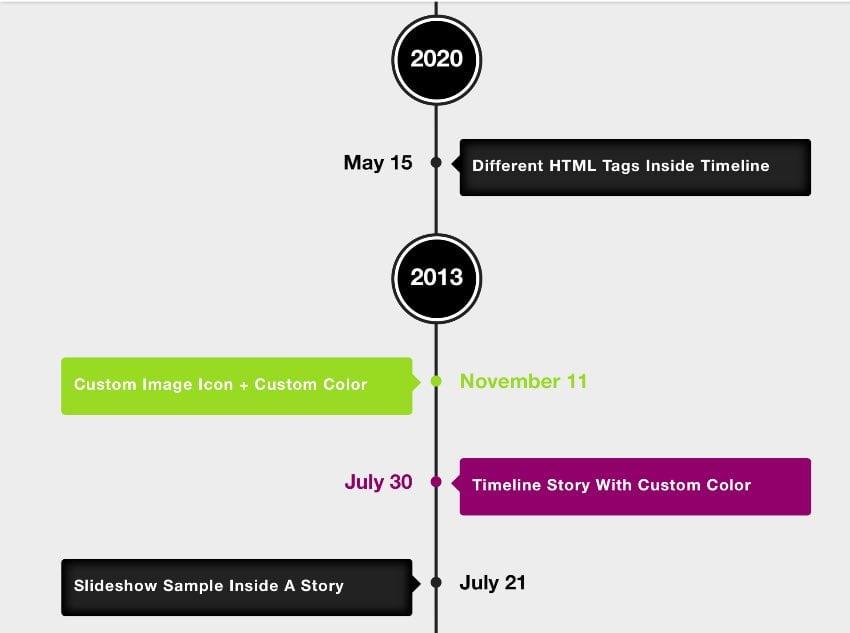 Cool Timeline Pro - WordPress Timeline Plugin