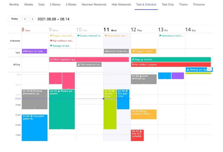 Full-featured Calendar JavaScript Library – tui.calendar